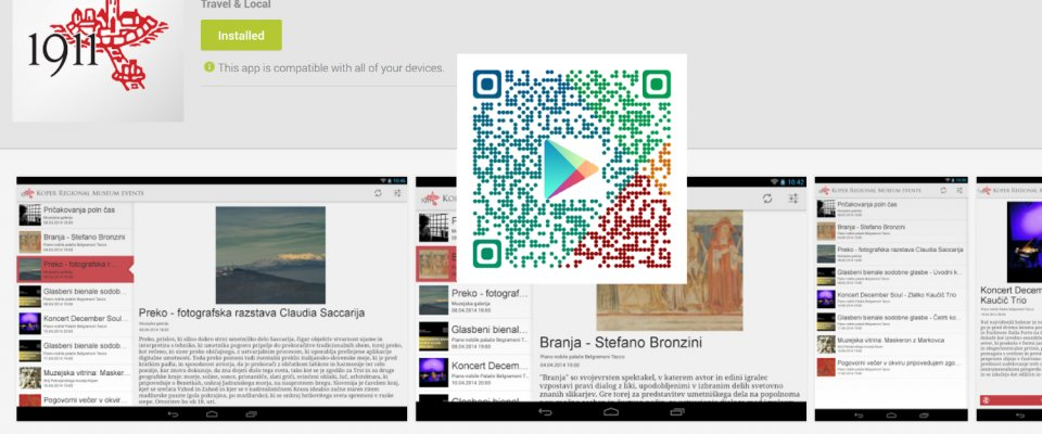L'Android app del museo